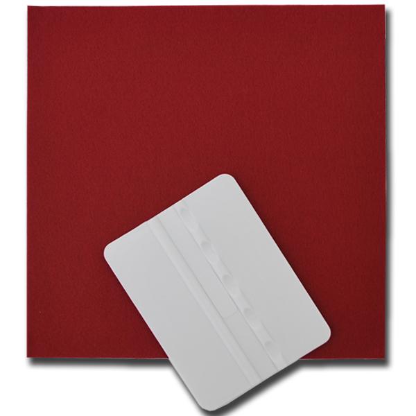 カッティング用シートの貼付に スキージ フェルトセット お求めやすく価格改定 シートの貼り付けに 印刷工房 受賞店