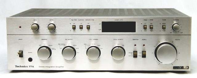 'not quite perfect' product junk set special price Technics technique meat SU-8099K (99A) SU-8077 (77A) pre-main amp