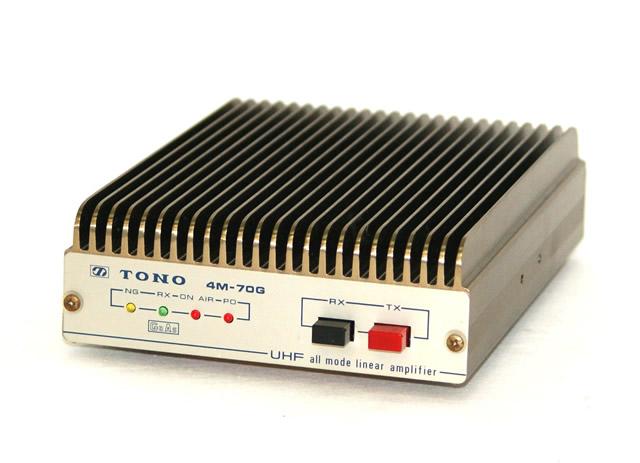 신속 발송+!!1점만 선착순 정크 특가 토우노 전기 주식회사 TONO 4 M-70 G UHF 올 모드 리니어 앰프(UHF all mode linear amplifier) 통전 확인만 본체만 아마츄어 무선