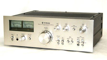 TRIO 트리오 KA-7500 스테레오프리메인안프 단품 구성