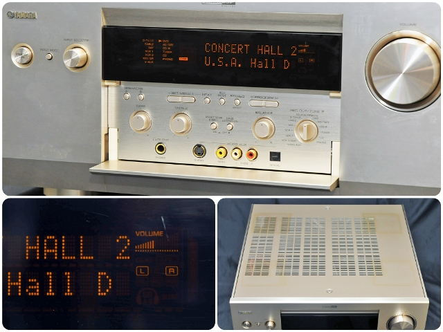 YAMAHA 야마하 DSP-AZ1 (N) 골드 DSP AV 앰프 리모컨 발송과 추천
