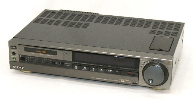 Sony Sony EV-S800 8mm videocassette recorder (Video8 deck) Hi8  non-correspondence DIGITAL MULTI AUDIO SYSTEM digital audio videocassette  recorder