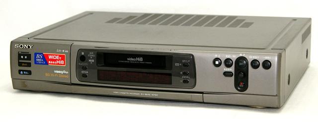 デポー メーカー:SONY 発売日:1995年2月10日 中古 迅速発送+送料無料 値引交渉歓迎 《ジャンク品》 SONY EV-BH10 本体のみ Hi8ビデオデッキ ソニー ビデオカセットレコーダー 大特価 @YA管理1-53R-802606