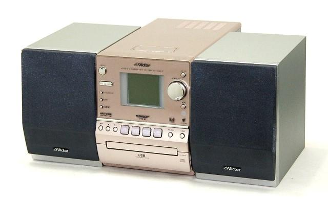 【中古】迅速発送+送料無料!!1点のみ早い者勝ち Victor ビクター JVC UX-GM55-N ピンクゴールド マイクロコンポーネントメモリーシステム(MEMORY/USB/CD/FM/AM)(本体CA-UXGM55-NとスピーカーSP-UXGM55-Sのセット) スピーカー色違い【@YA管理1-53-133C3739】