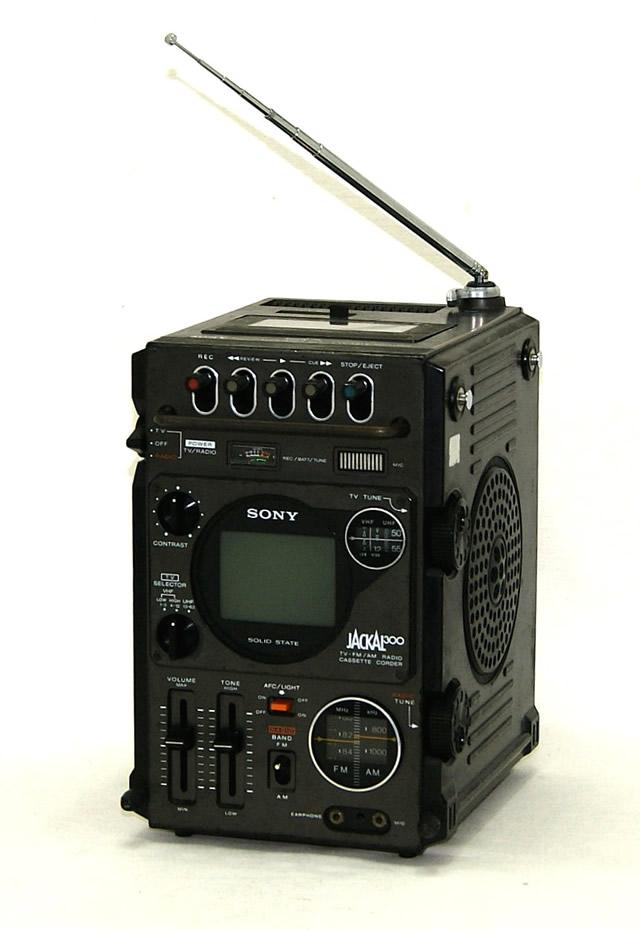 【中古】迅速発送+送料無料!値引交渉歓迎! 《訳あり(一部保証対象外)》 ※カセット使用不可 SONY ソニー FX-300 JACKAL (初代ジャッカル) TV-FM/AM RECEIVER CASSET CORDER(テレビ/FM AMラジオ/カセットレコーダー)【@YA管理1-53-021147】