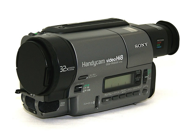 【中古】迅速発送+送料無料!値引交渉歓迎!1点のみ早い者勝ち <ほぼ新品・テストのみの超美品> SONY ソニー CCD-TR3000 ビデオカメラレコーダー(Hi8ビデオカメラ/ハイエイトハンディカム) 液晶モニター非搭載【@YA管理1-53-1008315】