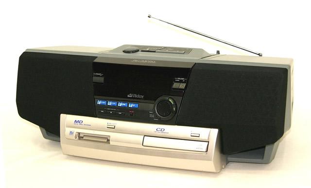 【激安アウトレット!迅速発送+送料無料!!在庫限り早い者勝ち】新品開封品/未使用品 Victor ビクター JVC RC-MD50 CD-MDポータブルシステム MDLP非対応【@Y管理1-53-HAN】