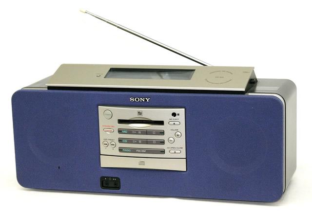 【中古】迅速発送+送料無料+動作保証!値引交渉歓迎! SONY ソニー ZS-M5 パーソナルMDシステム(CD/MD一体型システム) MDLP非対応【@YA管理1-53-X44671】