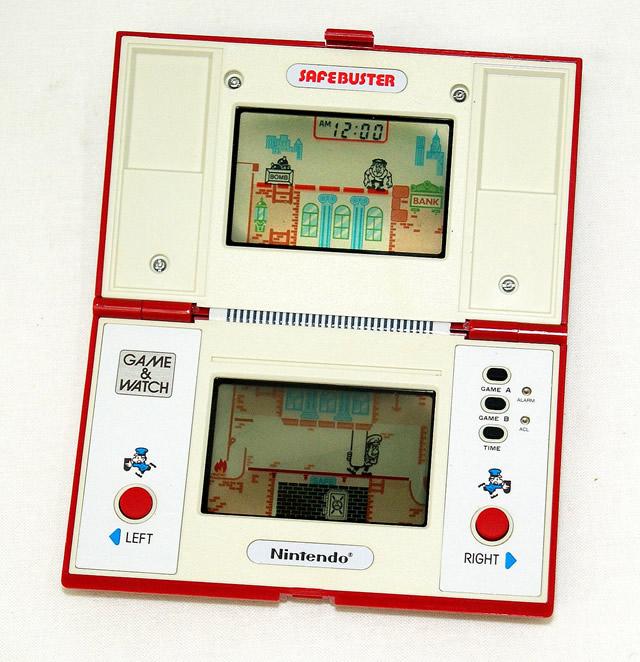 【中古】迅速発送+送料無料+動作保証!値引交渉歓迎! Nintendo 任天堂 JB-63 セイフバスター(SAFE BUSTER/セーフバスター) GAME&WATCH ゲーム&ウォッチ(ゲームウォッチ) マルチスクリーン 国内未発売品【@YA管理1-8-42689666】
