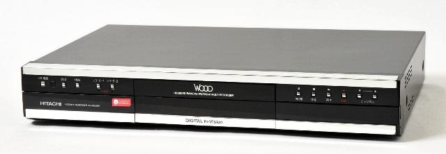【中古】迅速発送+送料無料+動作保証!値引交渉歓迎! HITACHI 日立 DV-DH500W ハイビジョンHDD/DVDレコーダー WOOO HDD:500GB【@YA管理1-53-60150074】