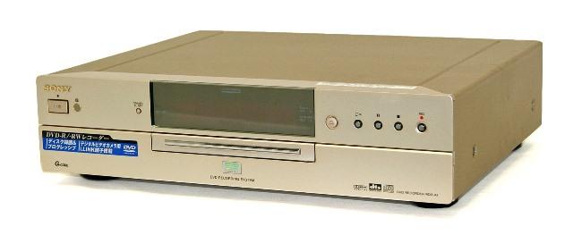 【中古】迅速発送+送料無料+動作保証!値引交渉歓迎! 《ランクAの美品》 SONY ソニー RDR-A1 DVDレコーダー 地デジチューナー非搭載 HDD:非搭載【@YA管理1-53-485057】