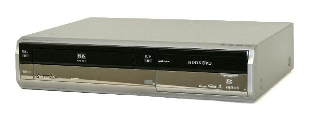 【中古】迅速発送+送料無料+動作保証!値引交渉歓迎! Panasonic パナソニック DMR-XW40V-S シルバー HDD内蔵VHS一体型DVDレコーダー(VHS/HDD/DVDレコーダー) HDD:400GB デジタルWチューナー リモコン代替品【@YA管理1-53-VN6JA001421R】