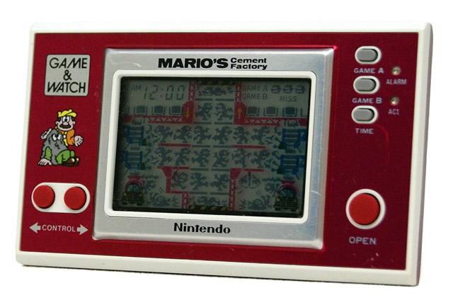 【中古】迅速発送+送料無料+動作保証!値引交渉歓迎! 入手困難!? Nintendo 任天堂 ML-102 マリオズ・セメントファクトリー(MARIO'S Cement Factory) GAME&WATCH ゲーム&ウォッチ(ゲームウォッチ) ニューワイドシリーズ【@YA管理1-8-23289535】