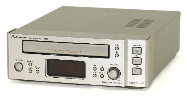 【中古】迅速発送+送料無料+動作保証!値引交渉歓迎! PIONEER パイオニア T-N901 カセットテープデッキ デジタルプロセッシングシステム搭載 FILLシリーズ  DOLBY NR B/C【@YA管理1-53-SJNN002928JP】