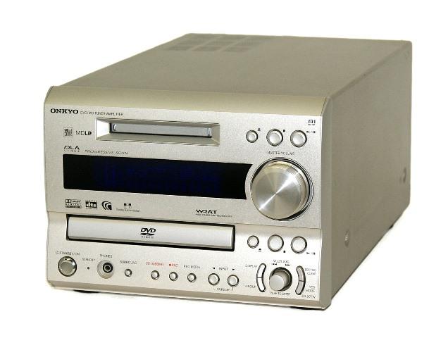 【中古】迅速発送+送料無料!! 《ジャンク品》 ONKYO オンキヨー(オンキョー) FR-X7DV-S シルバー DVD/MDチューナーアンプ【@YA管理1-53R-1443918207B】