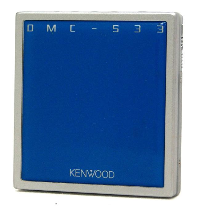 【中古】迅速発送+送料無料+動作保証!値引交渉歓迎! KENWOOD ケンウッド DMC-S33-L ブルー ポータブルMDプレーヤー(MD再生専用機) MDLP対応 汎用充電池(未使用品) 1本おまけ【@YA管理1-53-31000173】