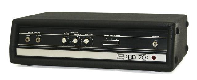 RB-70 ローランド 【中古】迅速発送+送料無料+動作保証!値引交渉歓迎! ベースアンプ Roland ヘッド【@YA管理1-53-200612】