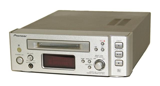 【中古】迅速発送+送料無料+動作保証!値引交渉歓迎! PIONEER パイオニア MJ-N902 MDレコーダー(MDデッキ) MDLP非対応 FILLシリーズ X-NT99MD構成コンポ リモコンなし【@YA管理1-53-ULUU015062JP】