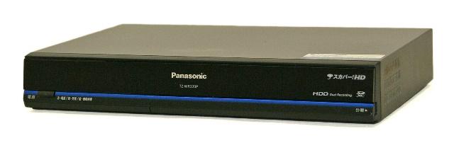 【中古】迅速発送+送料無料+動作保証!! Panasonic パナソニック TZ-WR320P ブラック ハードディスク内蔵プレミアムサービスDVR HDD320GB デジタルCSチューナー(地デジチューナー非搭載)光学ドライブ非搭載 スカパー!ICカードなし【@YA管理1-53-DEA11900010000122936】