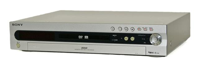 【中古】迅速発送+送料無料!値引交渉歓迎! 《訳あり(一部保証対象外)》 SONY ソニー RDR-HX6 DVDレコーダー(HDD/DVDレコーダー) スゴ録 HDD:80GB 地デジチューナー非搭載 リモコン欠品【@TE管理1-53-2051936】