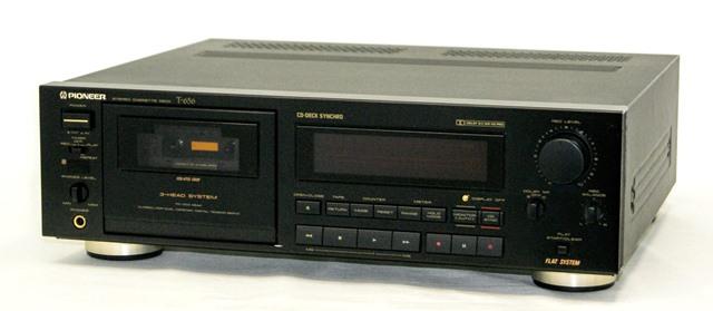 【中古】迅速発送+送料無料+動作保証!!<<概ね美品です>> PIONEER パイオニア T-656 3ヘッドカセットテープデッキ DOLBY NR B/C リモコン欠品【@YA管理1-53-KK0102382N】