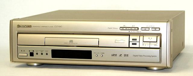 【中古】迅速発送+送料無料!! 《ジャンク品》 PIONEER パイオニア CLD-R6G レーザーディスクプレーヤー(LD/CDプレーヤー)【@YA管理1-53R-RKT0033967JP】
