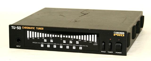 【中古】迅速発送+送料無料+動作保証!! Roland BOSS TU-50 Chromatic Tuner【@YA管理1-53-ZD62784】
