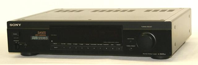 【中古】迅速発送+送料無料+動作保証!! SONY ソニー ST-SA5ES ブラック FM/AMステレオチューナー リモコン欠品【@YA管理1-53-200891】