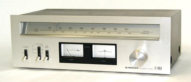 【中古】迅速発送+送料無料+動作保証!! PIONEER パイオニア TX-7800II TX-7800(2) AM/FMステレオチューナー【@YA管理1-53-1009244】