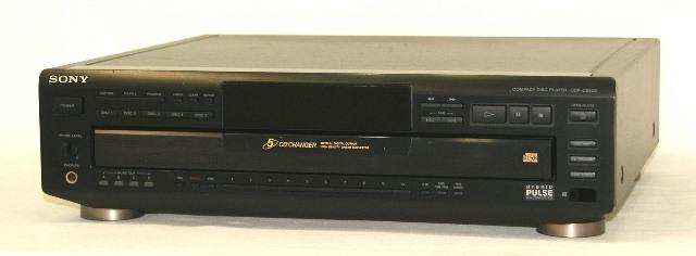 【中古】迅速発送+送料無料!! 《ジャンク品》 SONY ソニー CDP-CE505 CDプレイヤー(CDデッキ) 5連奏CDチェンジャー 本体のみ【@YA管理1-53R-2100057】