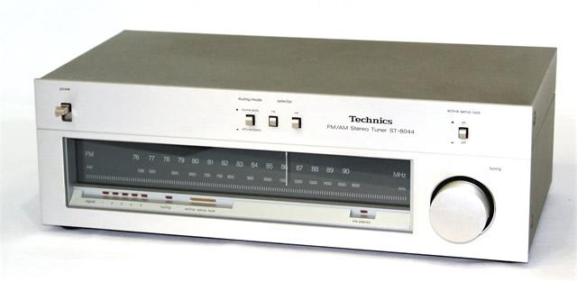 【中古】迅速発送+送料無料+動作保証!! Technics テクニクス ナショナル ST-8044 (シルバー) FM/AMチューナー【@YA管理1-53-AA8913A166G】