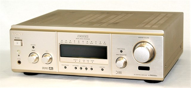【中古】迅速発送+送料無料+動作保証!! SONY ソニー TA-E9000ES AVコントロールアンプ (プリアンプ) リモコン欠品【@YA管理1-53-20218】