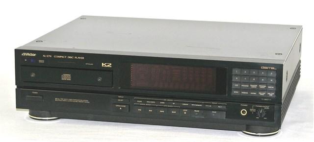 【中古】迅速発送+送料無料+動作保証!! Victor ビクター JVC XL-Z711 K2インターフェース回路搭載CDプレイヤー リモコン欠品【@YA管理1-53-15305395】
