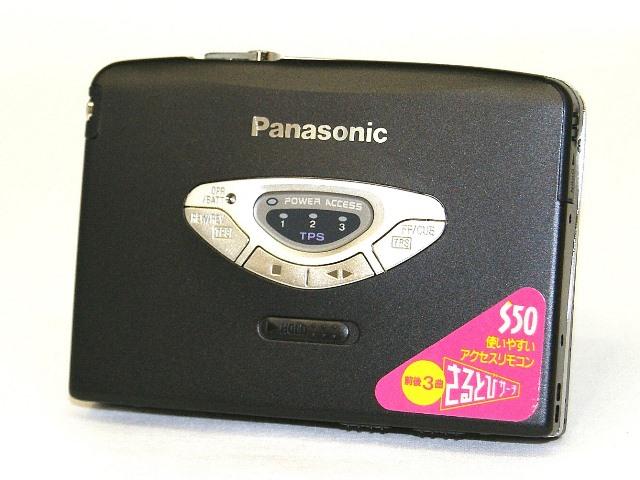 【激安アウトレット】迅速発送+送料無料!値引交渉歓迎!《付属品完備・未使用入荷で奇麗ですがジャンク品》 Panasonic パナソニック RQ-S50-K ブラック ステレオカセットプレイヤー【@YA管理1-53R-SF3FA37061】