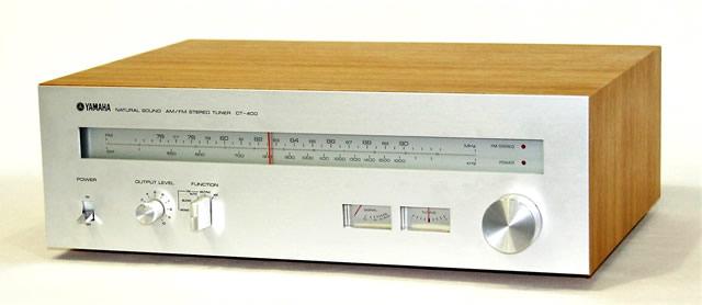 【中古】迅速発送+送料無料+動作保証!! YAMAHA ヤマハ 日本楽器製造株式会社 CT-400 FM/AMチューナー【@YA管理1-53-3432】