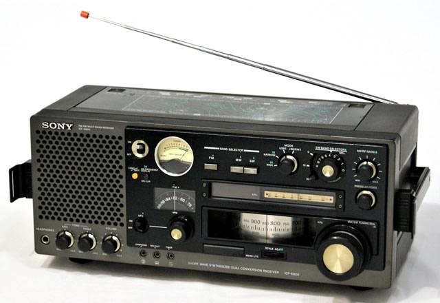 【中古】迅速発送+送料無料+動作保証!! SONY ソニー ICF-6800 31バンドマルチバンドレシーバー(FM/中波/短波)BCLラジオ【@YA管理1-53-12682】
