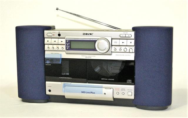 【激安アウトレット】迅速発送+送料無料!!1点のみ早い者勝ち《未使用品》 SONY ソニー ZS-D70 パーソナルオーディオシステム(CD/カセット/ラジオ)【@YA管理1-53-H5011184】