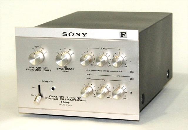 【中古】迅速発送+送料無料+動作保証!! SONY ソニー TA-4300F ディバイディング・プリアンプ【@YA管理1-53-202997】