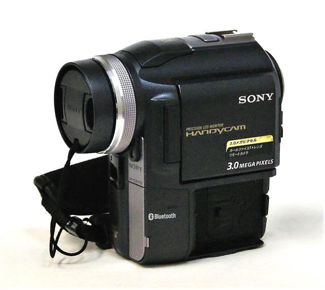 【中古】迅速発送+送料無料+動作保証!! <<ランクAの美品>> SONY ソニー DCR-PC300K デジタルビデオカメラレコーダー ハンディカム ミニDV【@YA管理1-53-1059822】