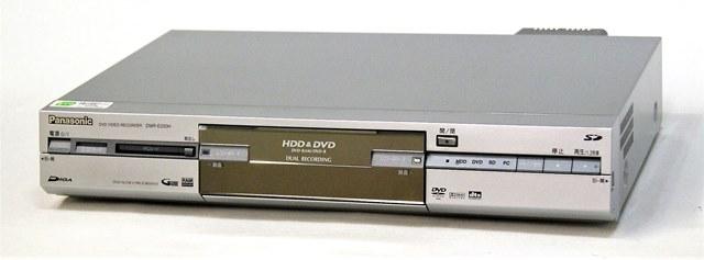【中古】迅速発送+送料無料+動作保証!! Panasonic パナソニック DMR-E220H-S シルバー DVDビデオレコーダー (HDD/DVDレコーダー) HDD:160GB 【@YA管理1-53-KW4LC003435】