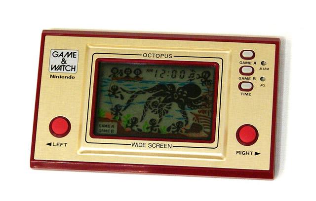 【中古】迅速発送+送料無料+動作保証!!<<ランクAの美品>> Nintendo 任天堂 OC-22 オクトパス(OCTOPUS) GAME&WATCH ゲーム&ウォッチ(ゲームウォッチ) ワイドスクリーン【@YA管理1-8-04046259】