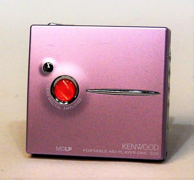 【中古】迅速発送+送料無料+動作保証!! KENWOOD ケンウッド DMC-S55-V バイオレット ポータブルMDプレーヤー(MD再生専用機) MDLP対応【@YA管理1-53-30901477】