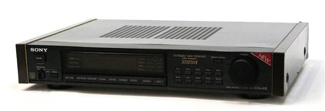 中古 迅速発送+送料無料 値引交渉歓迎 おトク 《訳あり 一部保証対象外 》 SONY ST-S333ESX AMステレオチューナー ソニー ST-S333ESXII 至高 FM 2 @YA管理1-53-207107