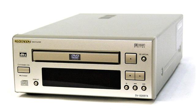 【中古】迅速発送+送料無料+動作保証!! ONKYO オンキヨー(オンキョー) DV-S205TX(S) DVDプレーヤー(DVDデッキ) インテック205シリーズ【@YA管理1-53R-3230029985D】