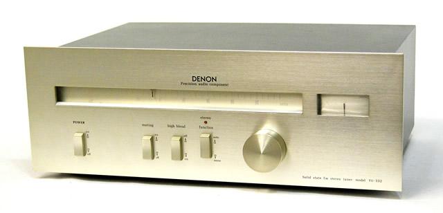 デノン(デンオン) DENON TU-332 FMチューナー【@YA管理1-53-110578】 【中古】迅速発送+送料無料+動作保証!!