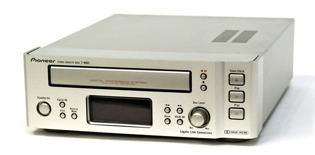 【中古】迅速発送+送料無料+動作保証!! PIONEER パイオニア T-N901 カセットテープデッキ デジタルプロセッシングシステム搭載 FILLシリーズ  DOLBY NR B/C【@YA管理1-53R-SJNN007421JP】