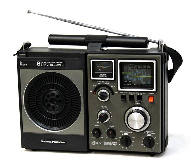 【中古】迅速発送+送料無料+動作保証!! National Panasonic ナショナル パナソニック 松下電器産業 RF-1180 クーガー118 BCLラジオ 6バンドレシーバー(SW1~SW4/MW/FM)【@YA管理1-53-5I1642B67xx】