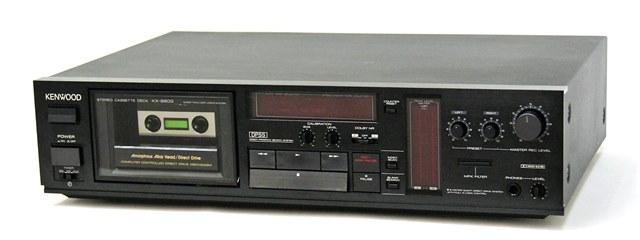 【中古】迅速発送+送料無料+動作保証!! KENWOOD ケンウッド JVC KX-880G カセットデッキ DOLBY B/C NR【@YA管理1-53-5YL11061】