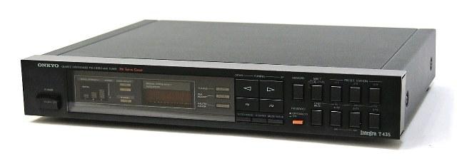 メーカー:ONKYO 発売日:1983年10月 中古 迅速発送+送料無料 動作保証 値引交渉歓迎 ONKYO [宅送] オンキヨー AMチューナー ブラック @YA管理1-53-8503006439 Integra 訳あり品送料無料 オンキョー FMステレオ T-435