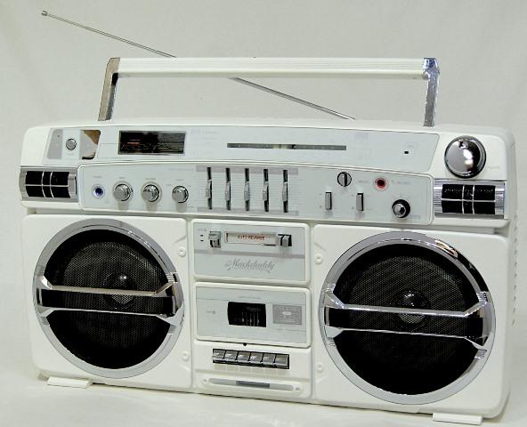 【中古】迅速発送+送料無料+動作保証!! 《稀少品》 Lasonic ラゾニック TRC-931 MackDaddy SW/AM/FMステレオラジオカセット (Wカセット)【@YA管理1-53-Mack】